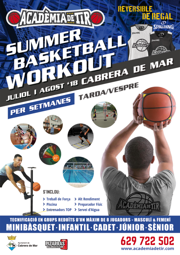 Summer Workout 2018 Cabrera de Mar