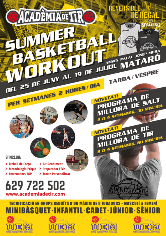 Summer Workouts Mataró 2019