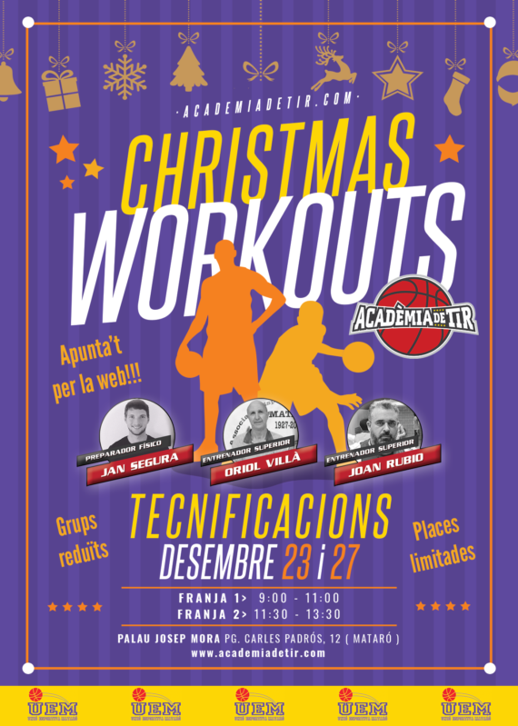 Christmas Workouts 2019 UEM